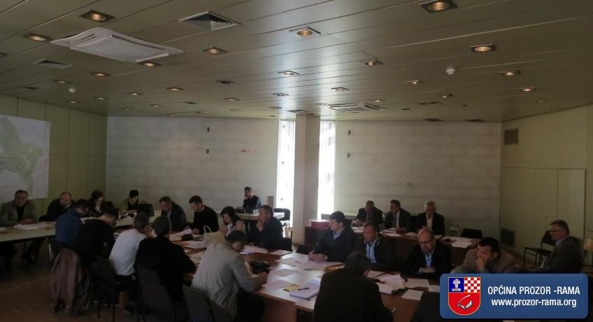 Održana 29.sjednica Općinskog vijeća Prozor-Rama