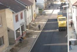 FOTO: Asfaltiranje dijela ulice Kralja Tomislava