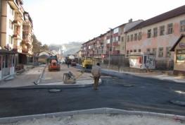 Danas završavaju građevinski radovi u gradu za ovu godinu