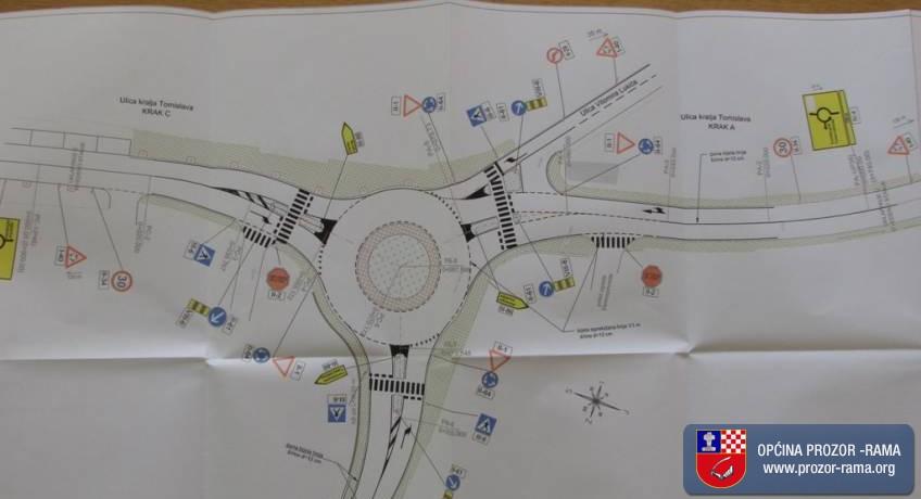 Potpisan Ugovor za izgradnju kružnog toka na križanju ulica Kralja Tomislava i Dive Grabovčeve