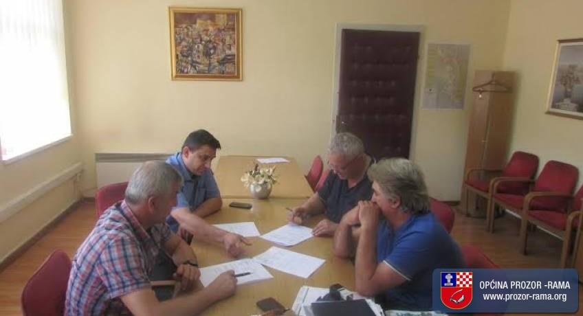 Potpisan Ugovor za II. fazu dogradnje Srednje škole Prozor