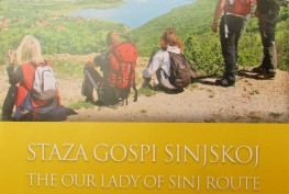 "Iz tiska izišla karta ""Staza Gospi Sinjskoj – The Our Lady of Sinj Route"""