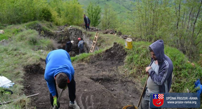 Foto: Nalazište na Gracu datira iz prapovijesti pa sve do 5. stoljeća