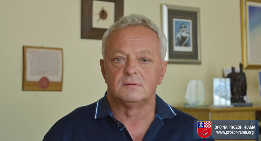 Čestitka načelnika općine dr. Joze Ivančevića u povodu Kurban bajrama