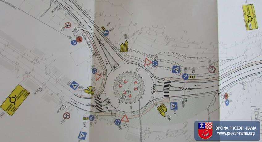 Otvorene ponude za radove na kružnom toku na ulazu u Prozor