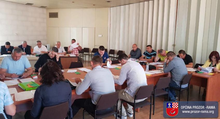 Poziv na 20. sjednicu Općinskog vijeća Prozor-Rama