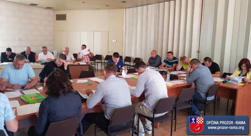 Poziv na 21. sjednicu Općinskog vijeća Prozor-Rama
