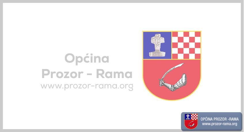 Javni oglas za prijem namještenika u radni odnos u Općini Prozor-Rama