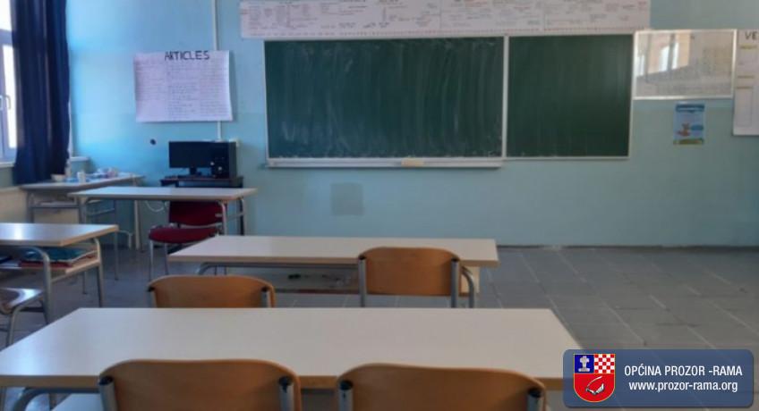U vrijeme obustave nastave u školama učenici će imati nastavu na daljinu u skladu s mogućnostima