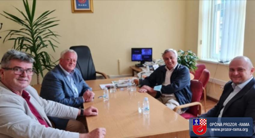 Generalni konzul Republike Hrvatske u Mostaru dr. sc. Marko Babić posjetio je općinu Prozor-Rama
