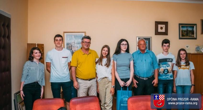Načelnik dr. Jozo Ivančević ugostio učenike generacije 2020./2021.