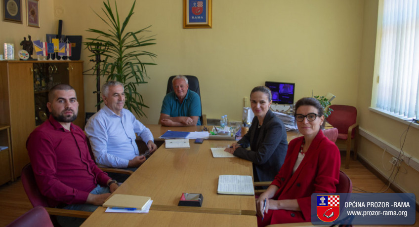 Načelnik općine Prozor-Rama održao sastanak s timom UNDP