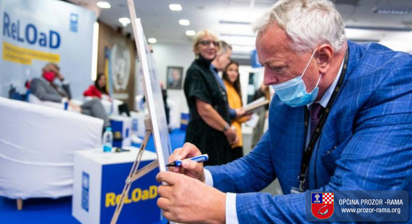 Načelnik Ivančević sudjelovao na svečanosti u UNDP uz potpisivanje suradnje po ReLOaD2 projektu