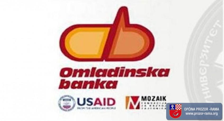 Poziv za prijem novih clanova u Odbor Omladinske banke Prozor - Rama