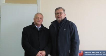 Generalni konzul Hrvatske posjetio Općinu Prozor-Rama