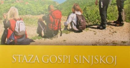 """Iz tiska izišla karta """"Staza Gospi Sinjskoj – The Our Lady of Sinj Route"""""""